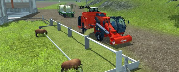 Headliner hry Farming Simulator 2013